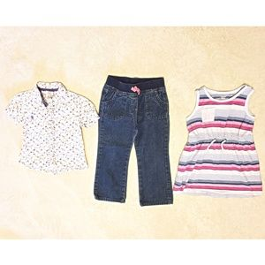 Other - 🌷3/$20🌷 Girls 3T Bundle